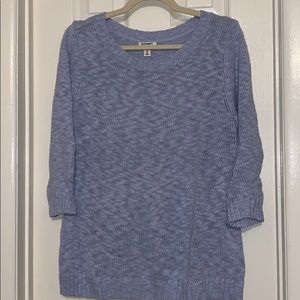 Old Navy light blue spring sweater pullover XL